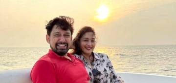 Madhuri Dixit shared amazing pictures with her husband, began the new year with a joyous trip