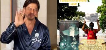 A young filmmaker from Bengaluru is camping outside Mannat, to get an opportunity of working with King Khan