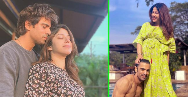 Mohit Malik Makes His Fans Gush As He Poses With His Pregnant Wife In A Pool