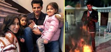 Karanvir Bohra's Newborn Daughter Celebrates Her First Lohri; Munchkin Gets Nickname From Her Twin Sisters