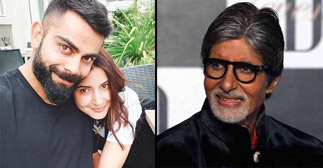 Amitabh Bachchan Makes An Interesting Tweet After Virat & Anushka Welcome A Baby Girl