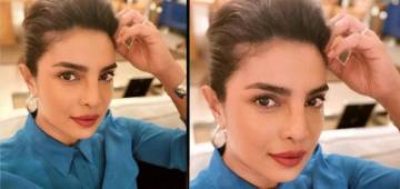 Priyanka Chopra Gets Herself All Decked Up For Virtual Meeting; Calls Herself Updo Expert
