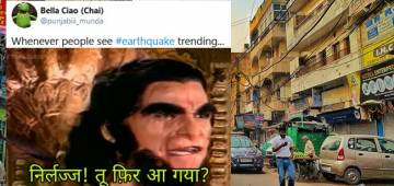 Netizens Rock The Social Media With Memes As A Mild Earthquake Hits Delhi