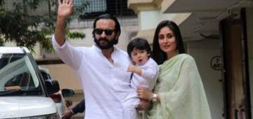 Kareena and Saif give the ethnic look couple goals