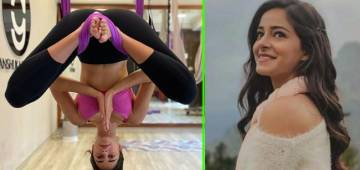 Ananya Panday Makes Fans' Jaws Drop In Awe With Her Inverted Butterfly Pose In New Post