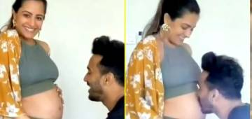 Anita Hassanandani Looks Heavenly As She Flaunts Her Baby Bump While Twinning With Hubby