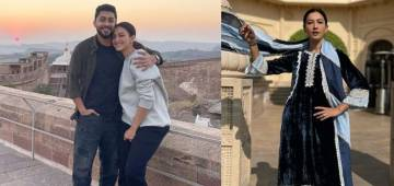 Gauahar Is Making The Most Of Her First Vacation With Hubby Zaid In Udaipur; See Pics