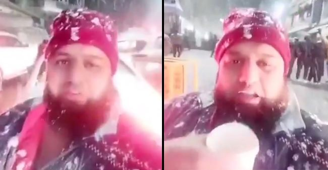 Chai Aur Baraf Ek Saath: Man Leaves Netizens Asking For More As He Relishes Cup Of Tea In Manali Snowfall