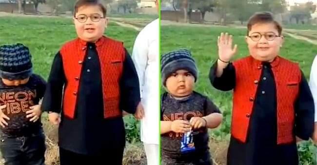 The Peeche Dekho Boy made a comeback wishing a new year with his cute video
