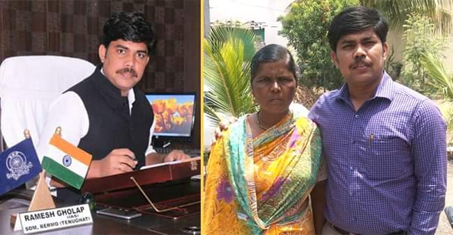 From a bangle seller to an IAS officer, Ramesh's story is compilation of dedication and hardwork