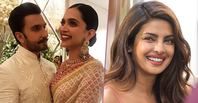 Priyanka Chopra expresses her wish to go on a double date with Ranveer and Deepika, in a video