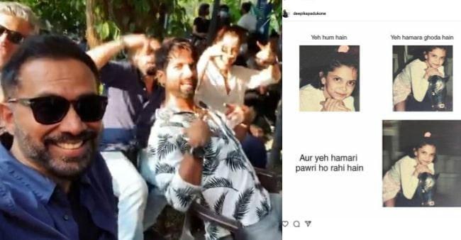 Bollywood Celebs Shahid Kapoor, Deepika Padukone Join The Pawri Ho Rahi Hai Meme Bandwagon; Leave Netizens In Splits