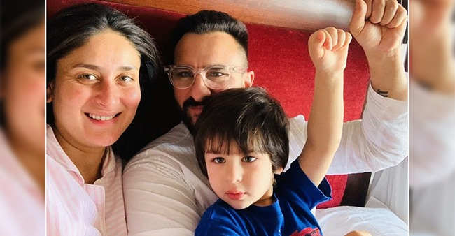 Kareena and Saif Blessed With A Baby Boy; Taimur Gets Promoted To Elder Brother