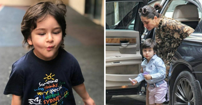 Kareena and Saif Are Patiently Preparing Son Taimur For The Arrival Of His New Sibling