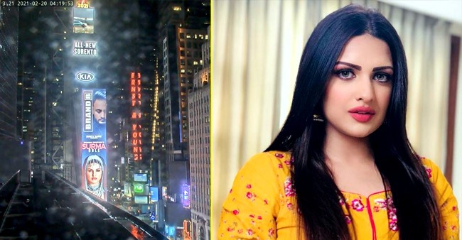 Himanshi Khurana Recalls Her Journey From 'Ludhiana To New York' After Finding Herself On Times Square Billboard