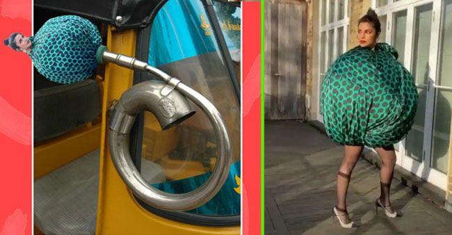 Priyanka Chopra Reacts To 'Boriya Bistar' Memes On Her Dress; Actress Can't Control Her Laughter