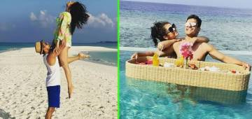 Drashti Dhami celebrates 6th wedding anniversary in Maldives, gives glimpse of vacation with hubby Niraj Khemka