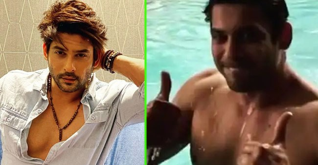 Sidharth Shukla Burns The Gram As He Shares Shirtless Video Flaunting His Chiseled Body; Leaves Fans Gushing