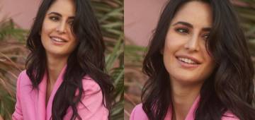 Katrina Kaif Oozes Hotness In Her Blush Pink Blazer As She Channels Her Inner Boss Lady
