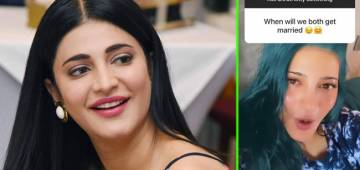 Shruti Haasan Has A Hysterical Reply To Netizens Asking Her About Marriage Plans During An AMA Session