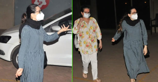 Sister Karisma Kapoor and Mom Babita Pay Visit To Kareena After Birth Of Her Second Baby