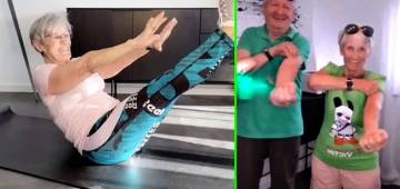 81-year-old woman from Germany becomes social media fitness wizard