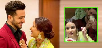 Jasmin Bhasin Reacts As Aly Goni Records Her Doing The Make-Up; Gushes By Dropping Heart-Eyes Emojis