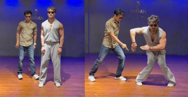 Actor Tiger Shroff shows his amazing dance moves to the song 'unbelievable', wins netizens