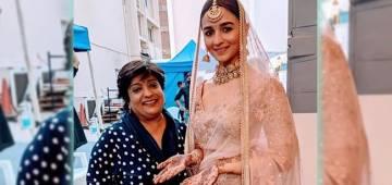 Alia's Look From Wedding Ad Session Turns Viral; Fans Say 'Kab Banogi Ranbir Ki Dulhan'