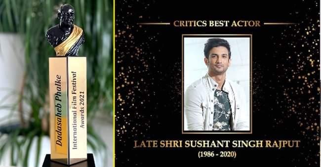 Dadasaheb Phalke Award: Deepika wins for 'Chhapaak', Sushant Singh Rajput honored for his contribution to cinema