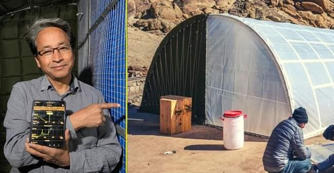 Solar-heated tent for Indian army: Sonam Wanghchuk's ingenious gift for jawans in Ladakh