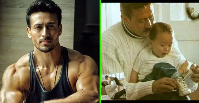 Tiger Shroff turns 31, Jackie Shroff drops unseen childhood picture of birthday boy with him