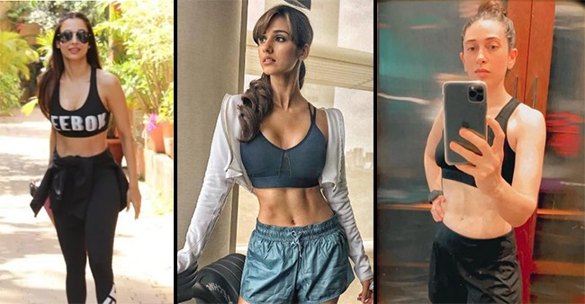 Fitness Enthusiast Bollywood Actresses That Flaunted Their Washboard Abs Leaving The Netizens Stunned