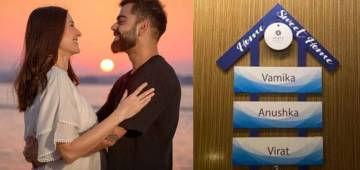 Virat and Anushka's 2-Month-Old Baby Girl Vamika Gets Her Own Nameplate In Ahmedabad