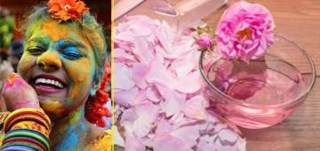 Easy and Effective Ways To Get Rid Of Holi Colours Without Causing Any Harm To Skin and Hair