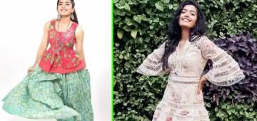 South Actress Rashmika Mandanna's Wardrobe For Summer 2021 Is Chic and Stylish