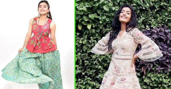 South Actress Rashmika Mandanna's Wardrobe For Summer 2021 Is Chic and Stylish