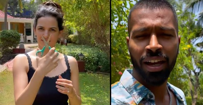 Hardik Pandya and Wife Natasa Stankovic's 'Pawri' Gets Invaded By Uninvited Guests; Video Goes Viral