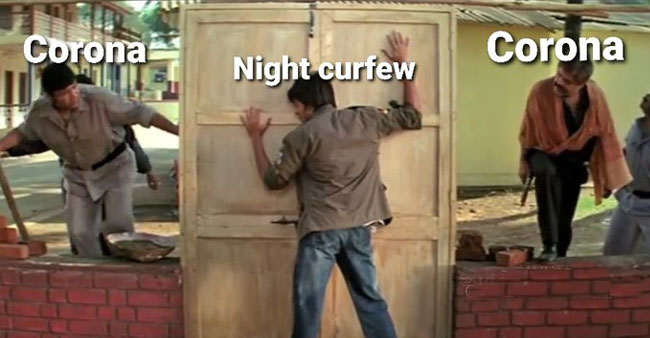 Social Media Emerges With Meme Fest As Night Curfew Measures Get Imposed