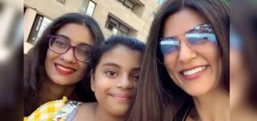 Sushmita Sen retweets daughter Alisah's heart touching essay on adoption