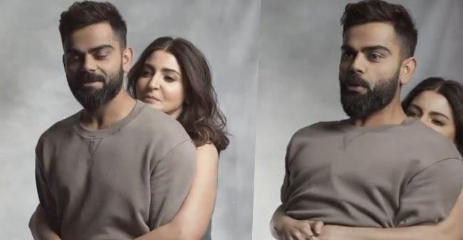 Goofy Anushka Sharma Lifts Husband Virat Kohli Off The Floor; Leaves Netizens Awe-Struck