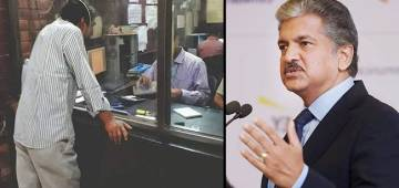 Anand Mahindra Shares Pic Of Man Finding A Way To Bypass Social Distancing Rules; Has Witty Reaction