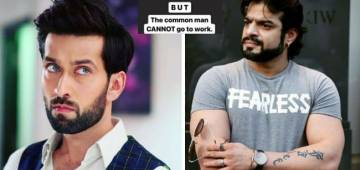 Karan Patel and Nakuul Mehta Express Their Opinions On The Lockdown Restrictions; Netizens Laud Their Candidness