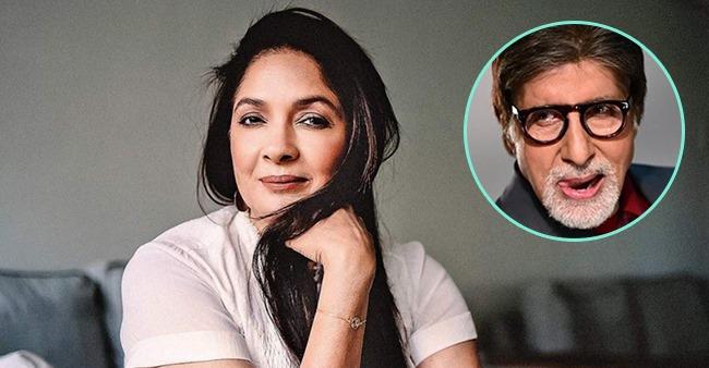 On working as Amitabh Bachchan's wife in Goodbye, Neena Gupta says it's like dream come true