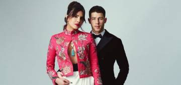 Priyanka Chopra and Hubby Nick Slay Their Red Carpet Look At BAFTA 2021; Netizens Go Gaga