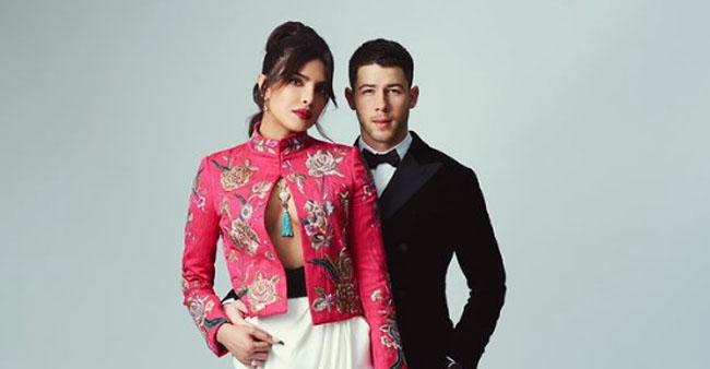 Priyanka Chopra and Hubby Nick Slay Their Red Carpet Look At BAFTA 2021; Netizens Go Gaga