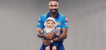 Hardik Pandya Shares A Cutesy Picture With Son Agastya On IG Ahead Of IPL 2021 Opening Match