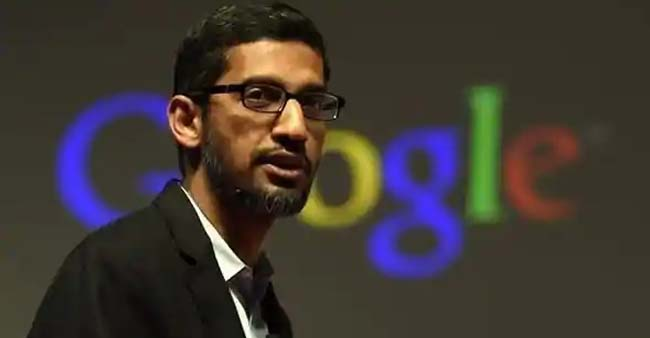 Sundar Pichai Speaks About New Google Earth Feature Of 24 Million Photos, 37 Years