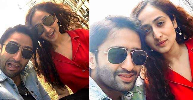 Shaheer Sheikh and Wife Ruchikaa Kapoor Celebrate 6 Months Of Married Life; Share Mushy Pictures