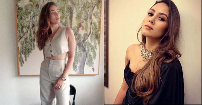 Mira Rajput Shares Two Pictures Flaunting The Outfits Apt For Working From Home